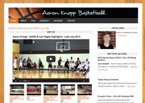 Aaron Knopp Basketball